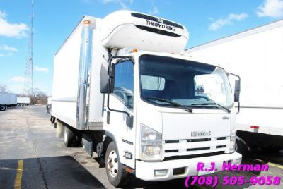 2012 Isuzu NPR 16ft Refrigerated Straight Truck