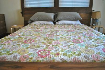 Cynthia Rowley Floral Quilt, FullQueen