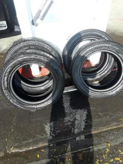 Any size tires used but all almost new