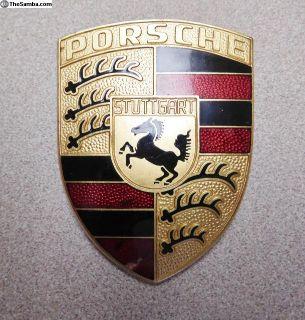 911/912 Hood Crest Emblem