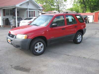 2002 Ford Escape XLS Value (Red)