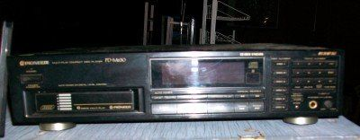 Pioneer 6 Cd changer with remote