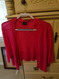 Very Pretty Cardigan. Hot Pink wear once