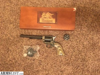 For Sale: Heritage Rough Rider .22lr/.22 mag Cylinders included. Like new