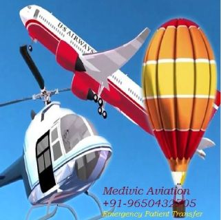 Best Medical ICU Air Ambulance Services in Varanasi