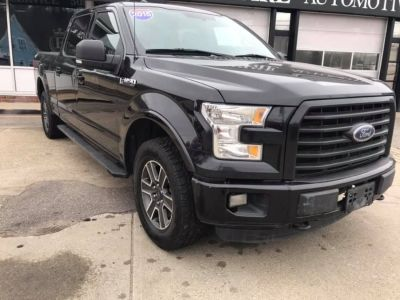 "2015 Ford F-150 4WD SuperCrew 157"" XLT (Black)"