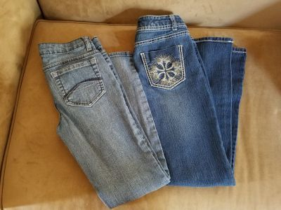 Girls Jeans, Size 10