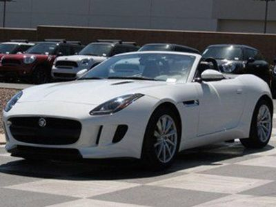 2014 Jaguar F-Type V6 (Polaris White)