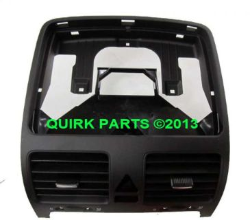 Sell 06-10 VW Volkswagen Jetta SEDAN Black Instrument Panel Center Vent Replacement motorcycle in Braintree, Massachusetts, United States, for US $68.17