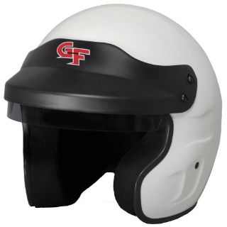 Buy G-FORCE 3121SMLWH GF1 Race Helmet Open Face Small White SA2015 motorcycle in Suitland, Maryland, United States, for US $179.99