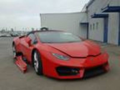 Salvage 2017 LAMBORGHINI HURACAN SPIDER for Sale