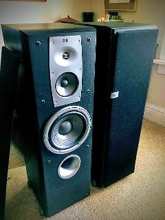 JBL N38II FLOORSTANDING SPEAKERS