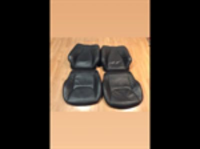 Parts For Sale: 00-02 s500 s600 w220 front black leather seats