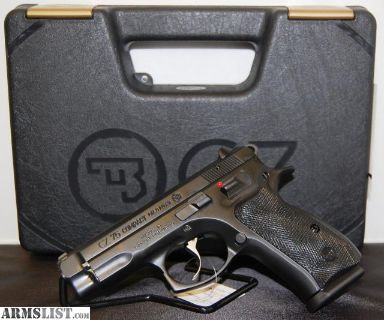 For Sale: NIB CZ 75 Compact 9mm