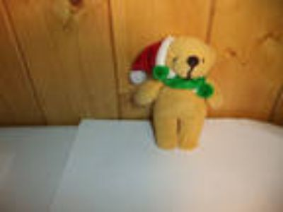 "Stuffed MINI CHRISTMAS BEAR 4""!!"
