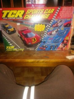 Tyco TCR. H. O. Scale slot car racing set