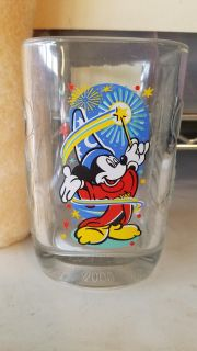 Mickey glass collectable cup