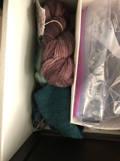 Assorted yarns and fabric