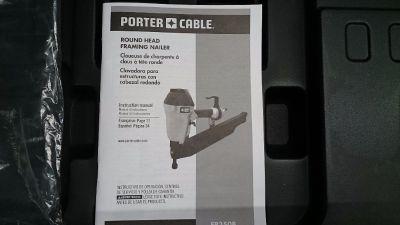 Porter Cable framing nailer