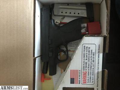 For Sale: S&W .40 M&P shield