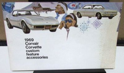 Buy Original 1969 Chevrolet Corvair Corvette Custom Features Accessories Brochure motorcycle in Holts Summit, Missouri, United States, for US $22.69