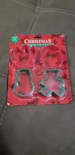 New Christmas Cookie Cutters