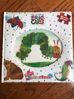 Eric Carle puzzle book...BRAND NEW/sealed