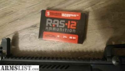 For Sale/Trade: Intrepid Arms RAS-12 PLUS 280 rounds double 00 buckshot