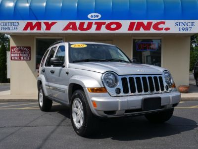 2007 Jeep Liberty Limited (Bright Silver Metallic)