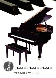 "Kohler & Campbell Grand Piano, 6'1""   Keyarts Houston"