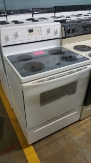 Whirlpool stove glass top