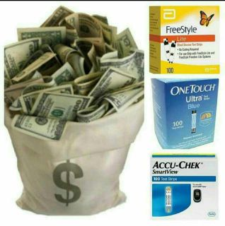 Diabetes Test Strips WANTED. Get paid cash