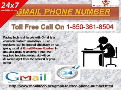 Is Gmail Phone Number r @ 1-850-361-8504 the high-quality system for settling gmail issues?