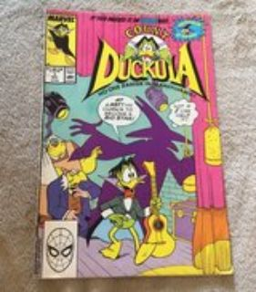 Count Duckula Comic Book