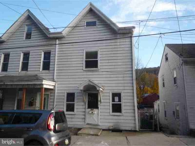 397 Front St Pottsville Three BR, Large twin home on outskirts of
