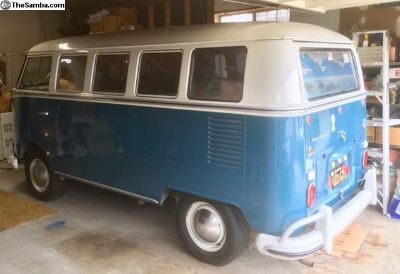 1967 VW Bus Deluxe - Family Heirloom Up for Sale