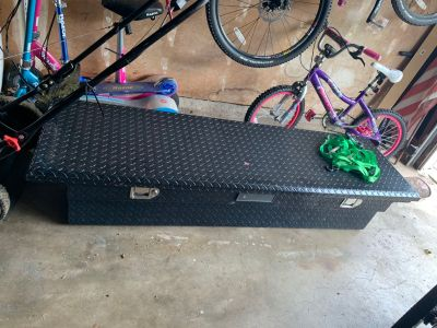 Black Low Profile Tool Box (Used on Chevy 1500)