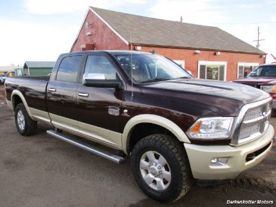 2015 RAM 3500 Laramie Longhorn Crew Cab 4x4 (Western Brown/White Gold Clear Coat)
