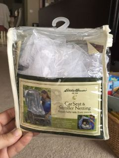 Car seat & Stroller insect netting