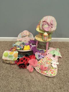 Baby Stella and accessories
