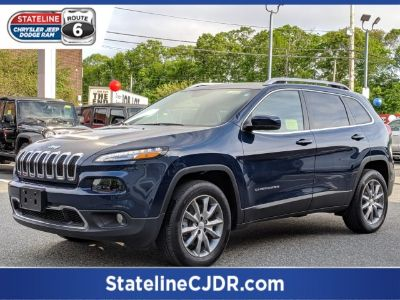 2018 Jeep Cherokee Limited (Patriot Blue Pearlcoat)