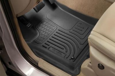 Sell Husky Liners 98451 12-13 Honda CR-V Black Custom Floor Mats 1st, 2nd Row motorcycle in Winfield, Kansas, US, for US $170.95