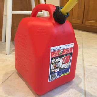 5 gallon Gas Can Used Once $18.99 plus tax new asking $14