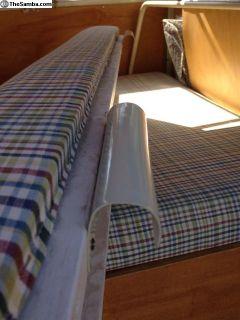 Bus Camper rear seat/bed brackets
