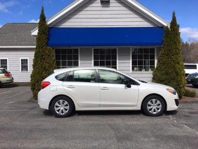 2012 Subaru Impreza 2.0i (Pearl White)