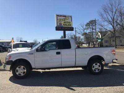 2011 FORD F-150 EXTENDED CAB 4 X 4