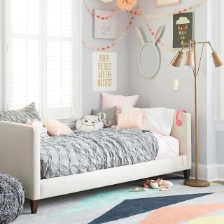 The Land of Nod Silhouette Upholstered Daybed