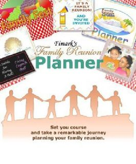 $17.99 Fimark's Family Reunion Planning Book