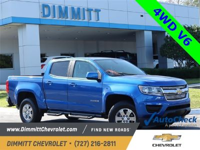 2019 Chevrolet Colorado Work Truck (Blue Metallic)