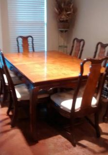 $700, Dining room table seats 6-8